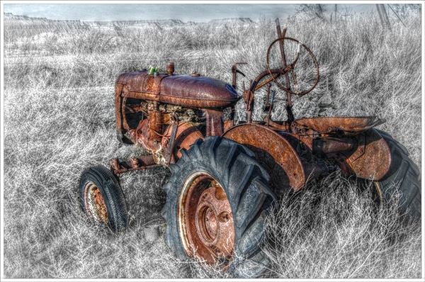 Tractor Ghosts & Whittling Lessons from an Absentee Father