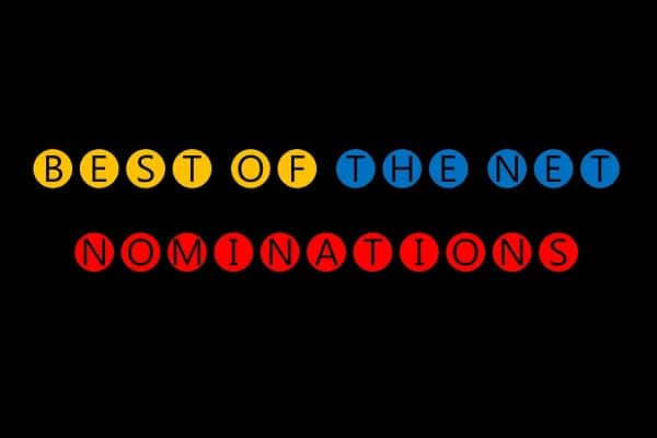 Our Nominations for Best of the Net are in!