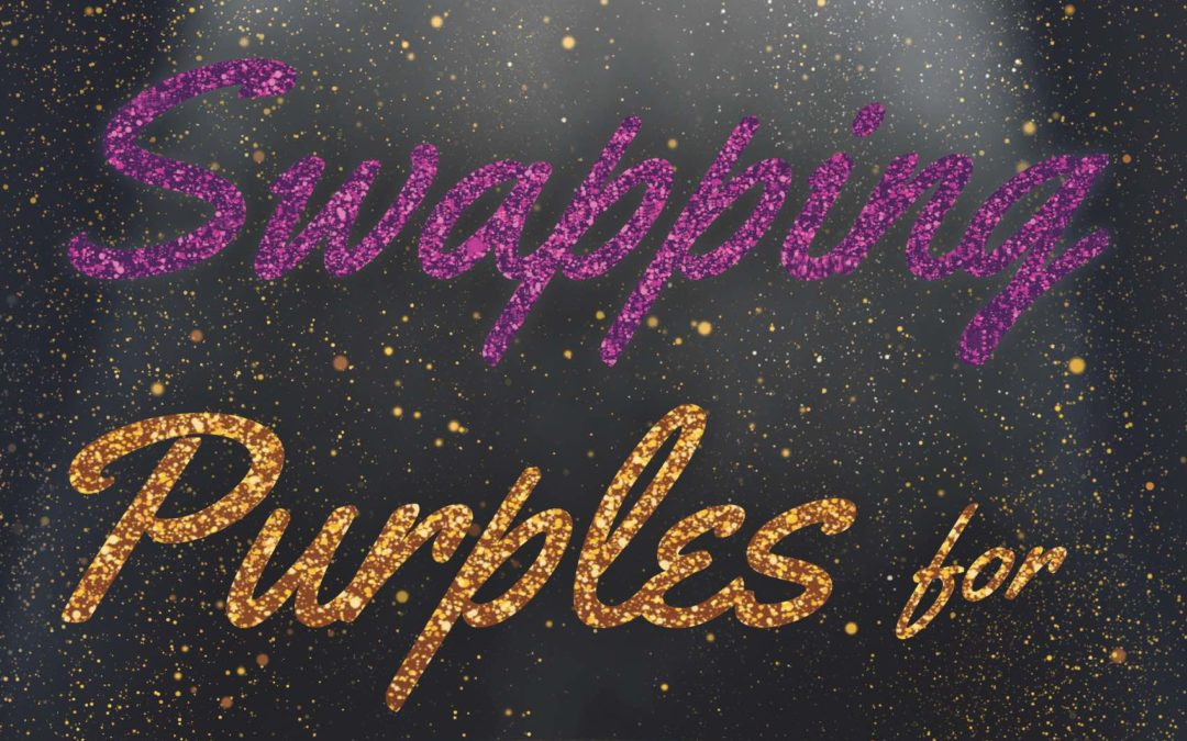"Debut author works against tradition in ""Swapping Purples for Yellows"" 