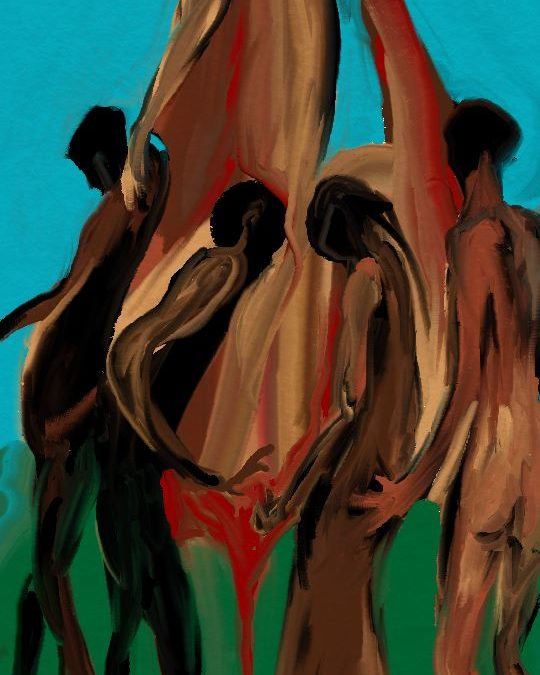 With the Blessings of the Ancestors   Visual Art