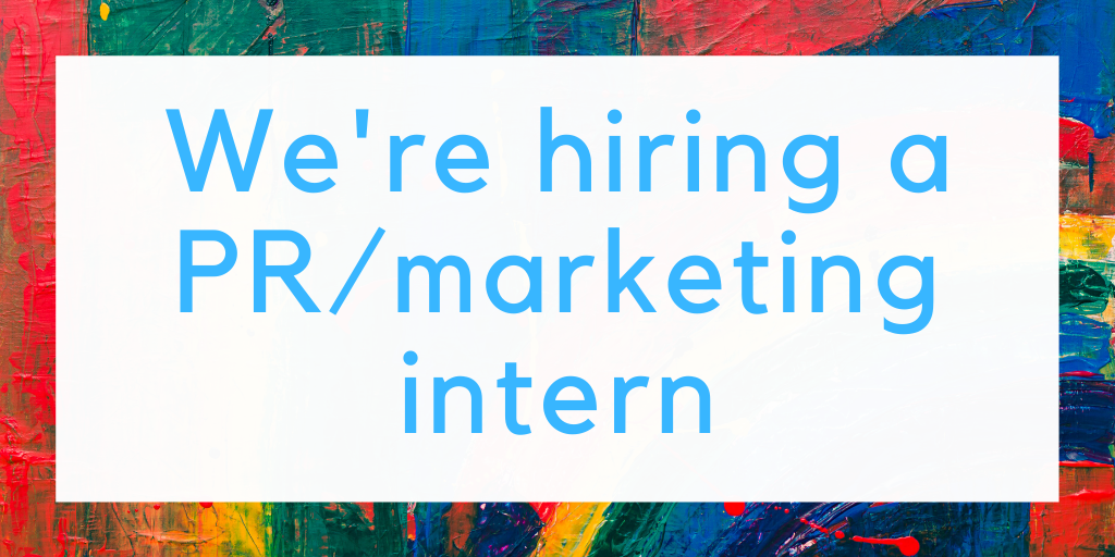 We're Hiring a PR Intern!