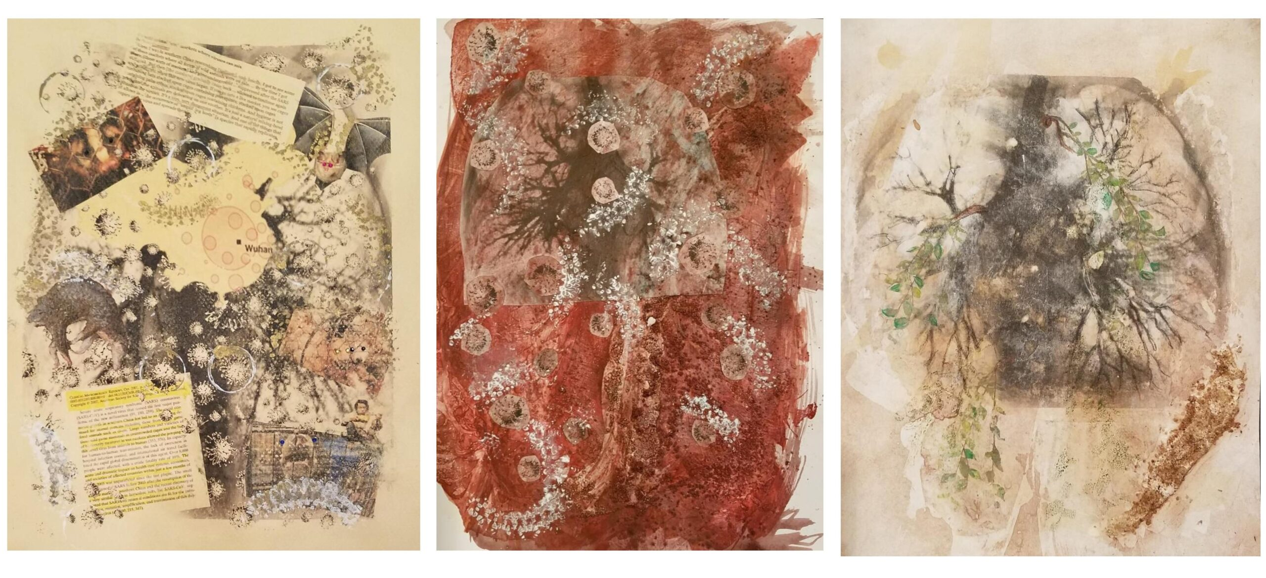 Washed Out Visual art by Gretchen Gales